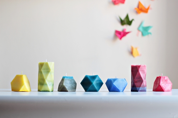 How To Make Cool Geometric Candles