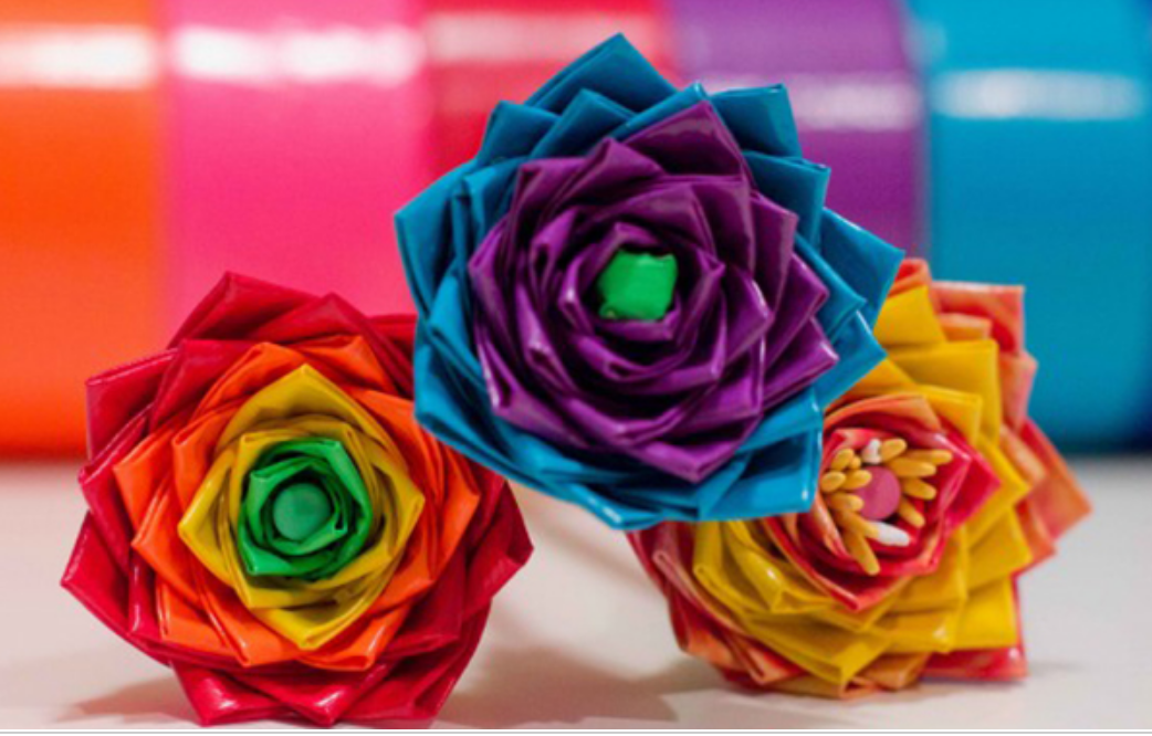 How To Make Duct Tape Flowers | Instructions