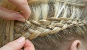 How To French Braid Your Own Hair | Instructions