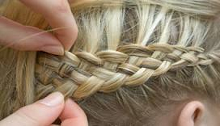 How To French Braid Your Own Hair - DIY Projects for Teens