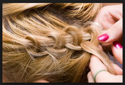 How To French Braid Your Own Hair | Instuctions