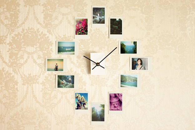 Cute DIY Room Decor Ideas for Teens - DIY Bedroom Projects for Teenagers - DIY Photo Wall Art Clock