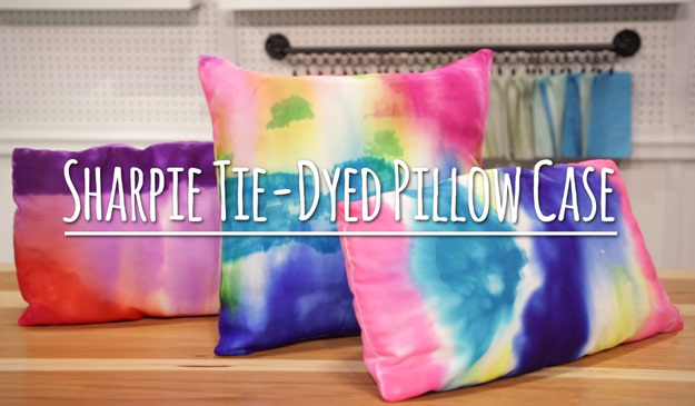 Cute DIY Room Decor Ideas for Teens   DIY Bedroom Projects for Teenagers    Sharpie Tie. 37 Insanely Cute Teen Bedroom Ideas for DIY Decor   Crafts for Teens