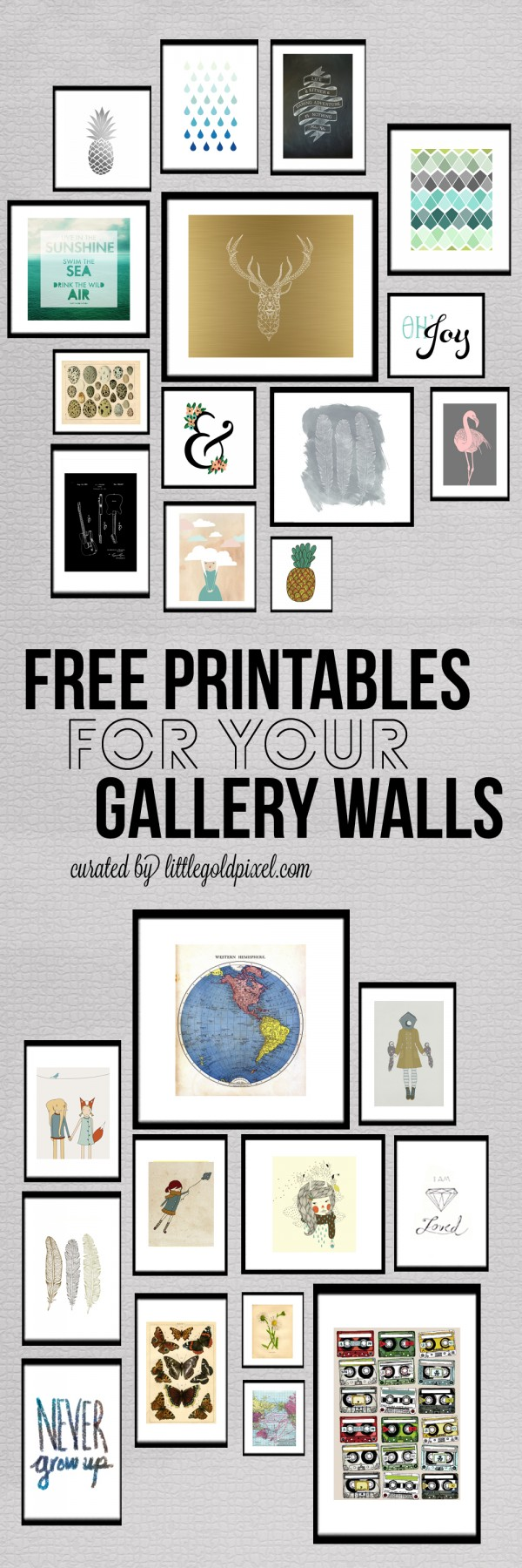 DIY Free Printables Wall Decor