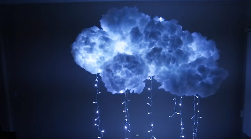 How To Make A Diy Cloud Light