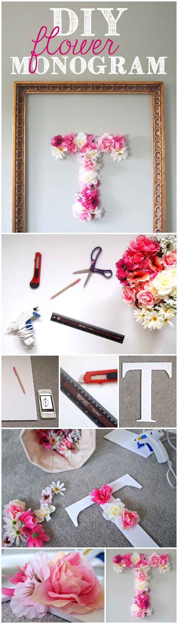 Creative bedroom wall decor ideas - Cute Diy Room Decor Ideas For Teens Diy Bedroom Projects For Teenagers Diy Flower