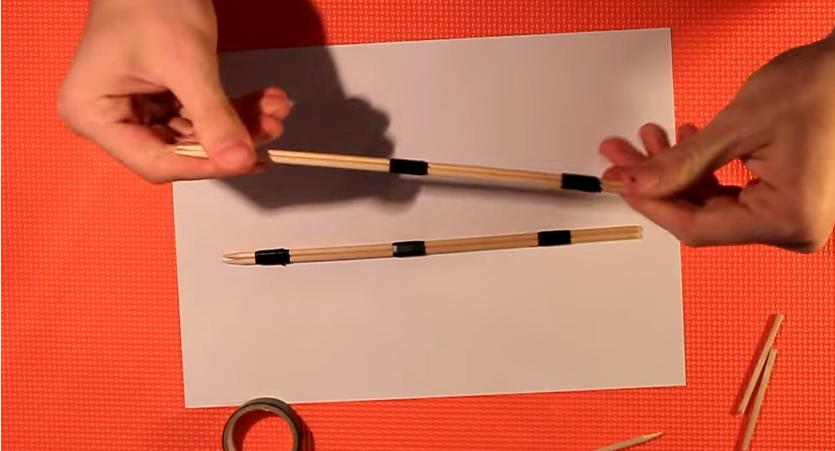 Make A Diy Mini Bow And Arrow