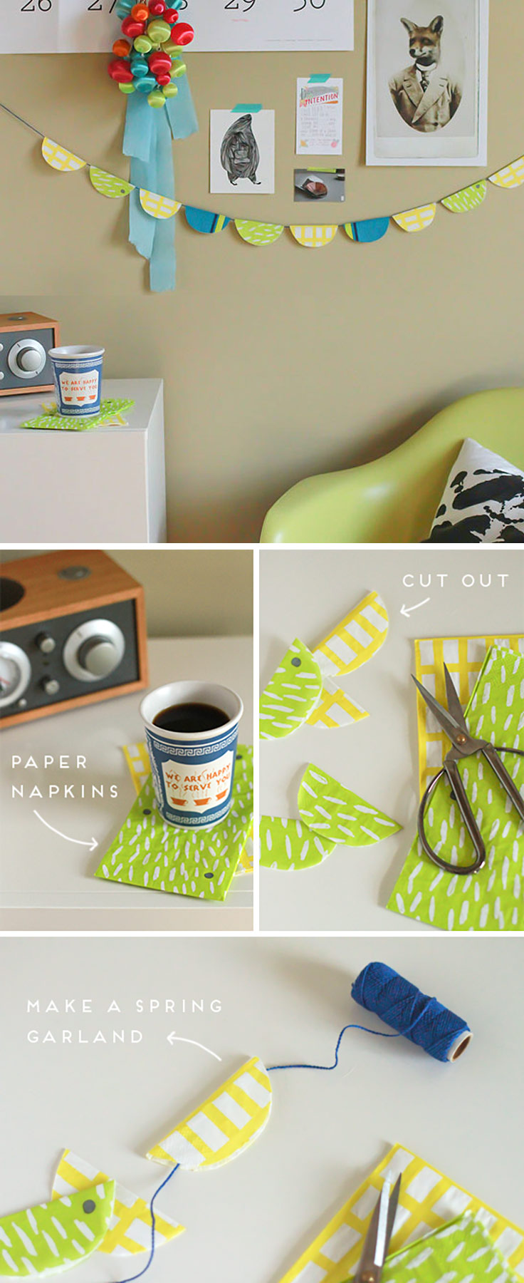 Superb Cute DIY Room Decor Ideas For Teens   DIY Bedroom Projects For Teenagers    Paper Napkin
