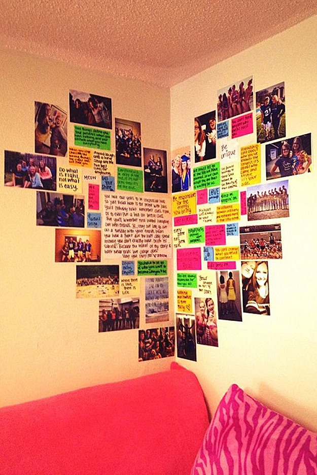 37 insanely cute teen bedroom ideas for diy decor crafts for Diy wall decor projects