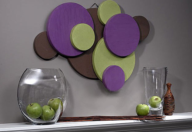 DIY Craft Projects for Wall Art - Hanging Disc Wall Art Ideas