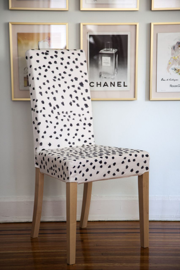 Cool Diy Sharpie Crafts Projects Ideas Sharpie Spotted Chair For Fun Home Decor Idea