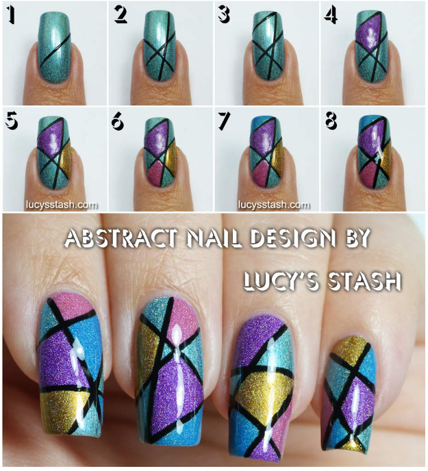 Cool Nail Designs To Do At Home