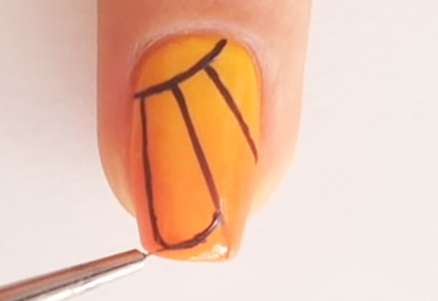 DIY-Monarch-Butterfly-Nail-Art-9