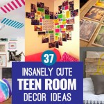37 Cute DIY Teen Bedroom Ideas for Ultra Cool Decor