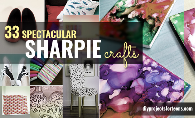 33 cool sharpie crafts and diy project ideas for Crafts to do with teenagers