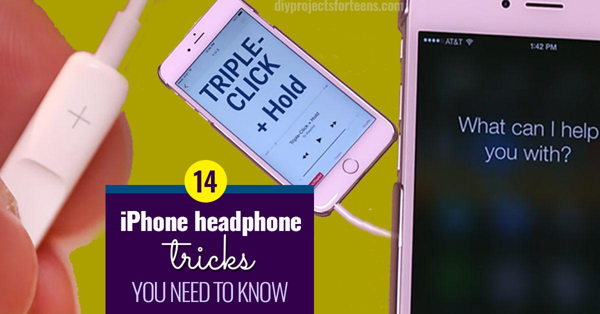 Cool Iphone Headphone Tricks You Gotta See