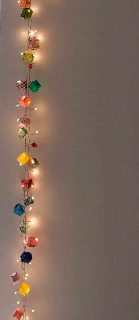 String Light Diy Ideas For Cool Home Decor Origami Garland Hanging
