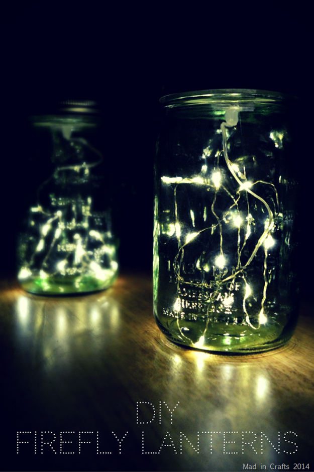 String Light DIY Ideas For Cool Home Decor | Firefly Mason Jar Lights Are  Fun For