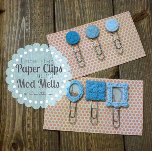 DIY Custom Planner Paper Clips with Clip Art