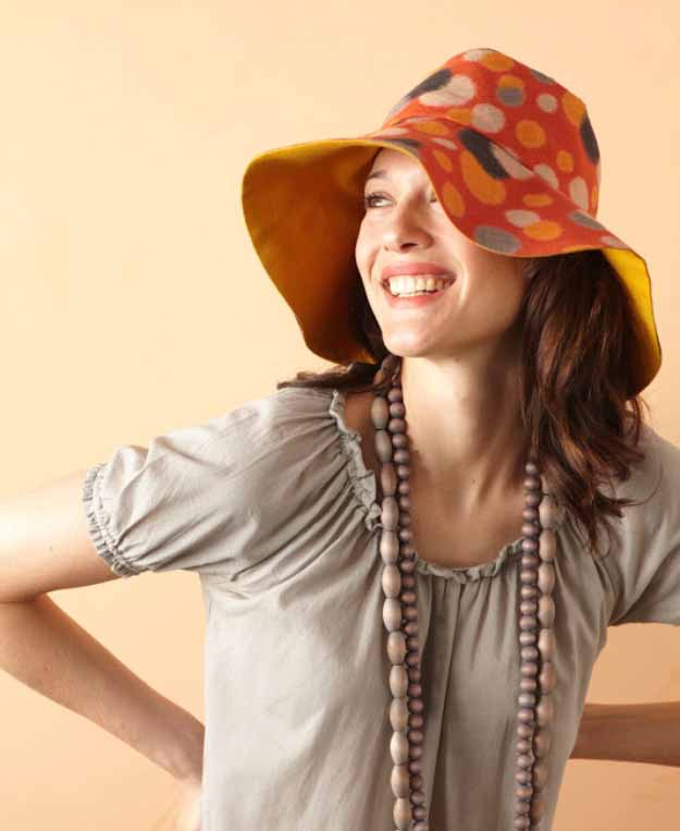 Cool Crafts You Can Make for Less than 5 Dollars | Cheap DIY Projects Ideas for Teens, Tweens, Kids and Adults | Reversible Hat | http://diyprojectsforteens.com/cheap-diy-ideas-for-teens/