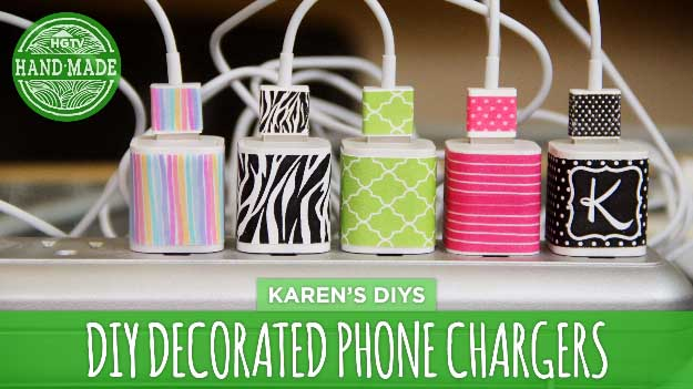 Cool DIY Ideas for Your iPhone iPad Tablets & Phones | Fun Projects for Chargers, Cases and Headphones | DIY Decorated iPhone Chargers #diygadgets #stem #techtoys #iphone