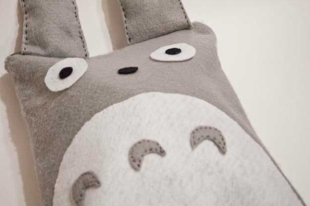 Cool DIY Ideas for Your iPhone iPad Tablets & Phones | Fun Projects for Chargers, Cases and Headphones | DIY: How To Make Totoro's Laptop Bag or Ipad Case #diygadgets #stem #techtoys #iphone