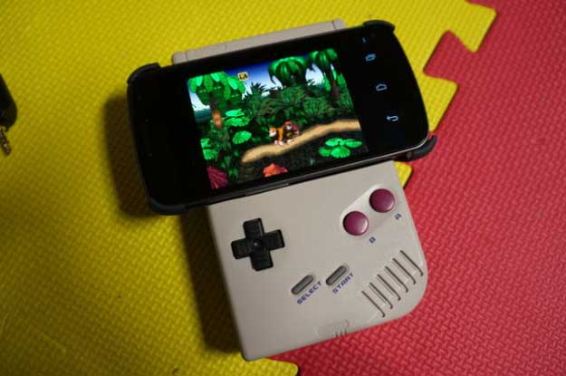Cool DIY Ideas for Your iPhone iPad Tablets & Phones | Fun Projects for Chargers, Cases and Headphones | Game Boy Android Gamepad | http://diyprojectsforteens.com/diy-projects-iphone-ipad-phone/