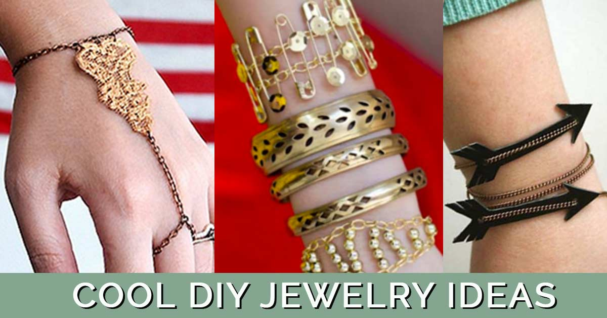 Cool DIY Jewelry Ideas - Fun DIY Jewelry Ideas for Easy but Cool Handmade Fashion- Cute Crafts Ideas for Teens and Adults