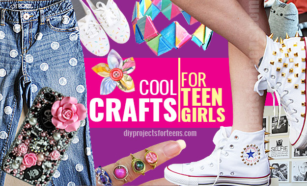 arts and crafts ideas for girls cool crafts for teen 7452
