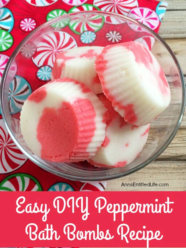 Awesome DIY Crafts Ideas for Winter | Easy Peppermint Bath Bombs Make Great DIY Gifts | Cheap DYI Ideas