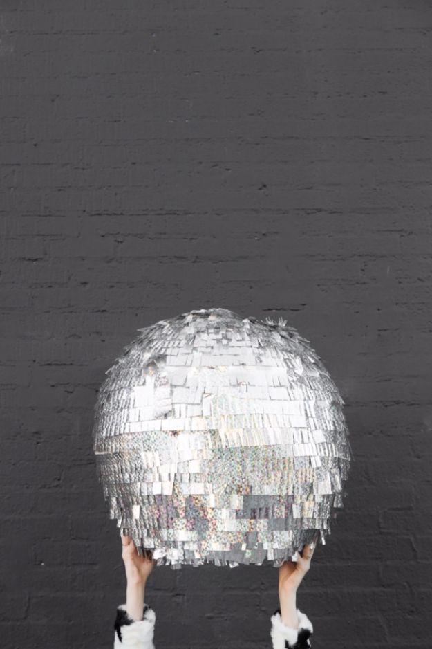 DIY Teen Room Decor Ideas For Girls | DIY Disco Ball Pinata | Cool Bedroom  Decor