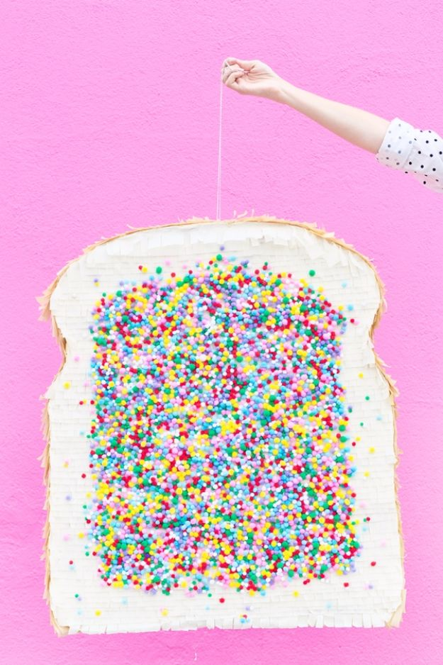 DIY Teen Room Decor Ideas for Girls | DIY Fairy Bread Pinata| Cool Bedroom Decor, Wall Art & Signs, Crafts, Bedding, Fun Do It Yourself Projects and Room Ideas for Small Spaces #diydecor #teendecor #roomdecor #teens #girlsroom