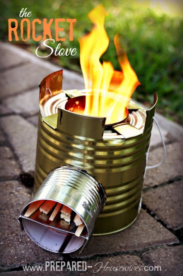 Cool Crafts for Teens Boys and Girls - DIY Rocket Stove - Creative, Awesome Teen DIY Projects and Fun Creative Crafts for Tweens