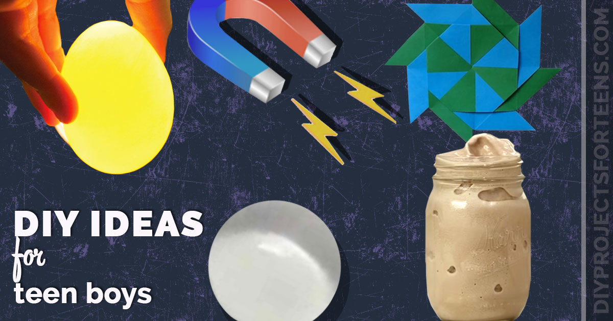 Cool DIY Projects For Teen Boys - Crafts and Fun Creative Decor Crafts