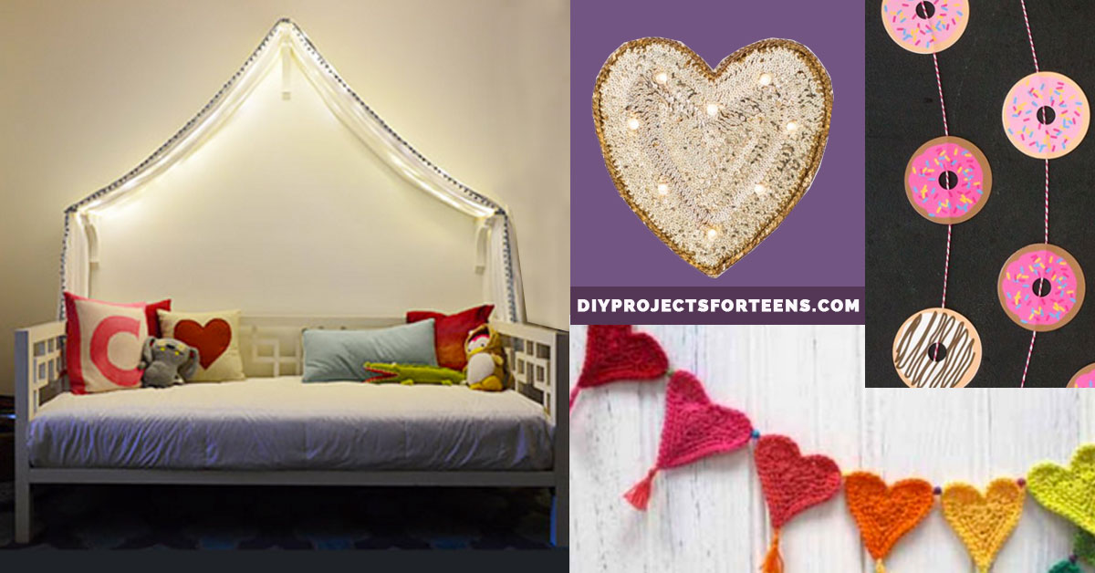 Diy projects for bedroom decor