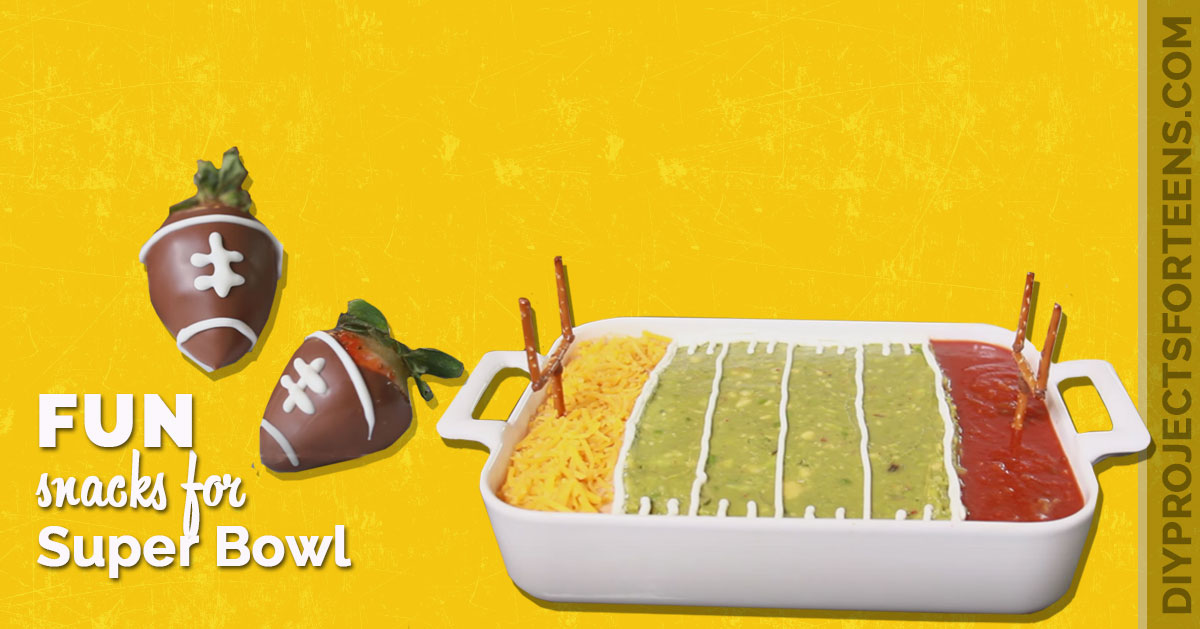 Fun DIY Super Bowl Snacks and Recipes