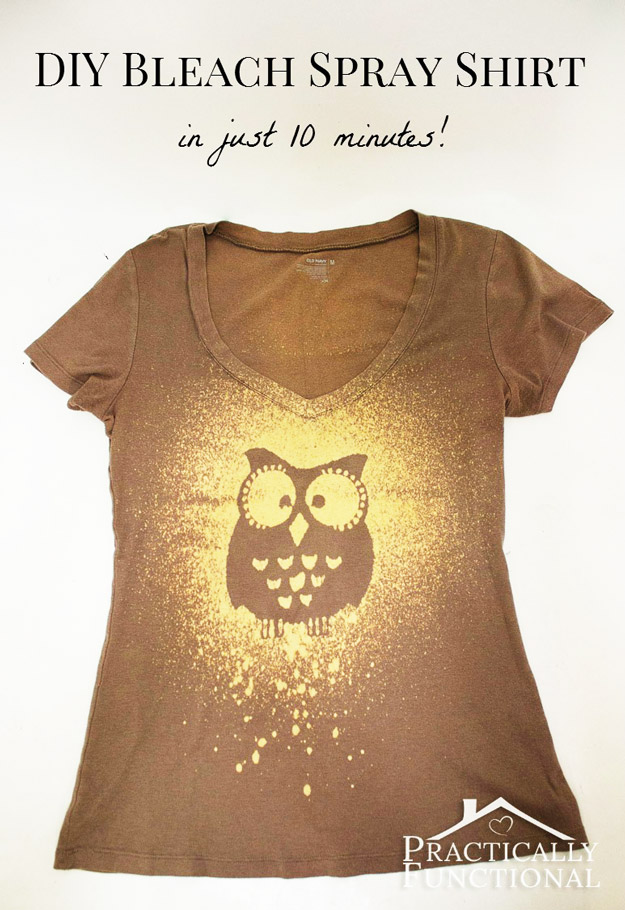 47 fun pinterest crafts that aren 39 t impossible diy for Diy t shirt design