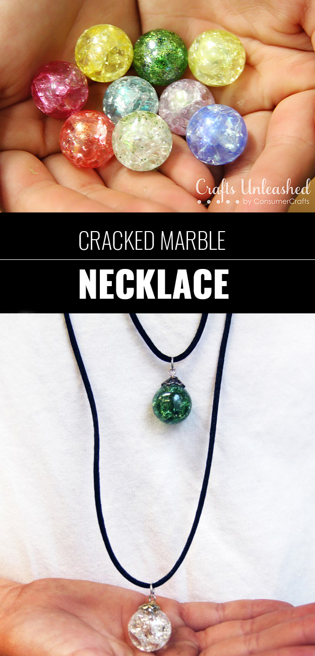 Cool DIY Ideas for Fun and Easy Crafts - DIY Cracked Marble Necklace for Fun DIY Jewelry Idea - DIY Moon Pendant for Easy DIY Lighting in Teens Rooms - Dip Dyed String Wall Hanging - DIY Mini Easel Makes Fun DIY Room Decor Idea - Awesome Pinterest DIYs that Are Not Impossible To Make - Creative Do It Yourself Craft Projects for Adults, Teens and Tweens #diyteens #teencrafts #funcrafts #fundiy #diyideas