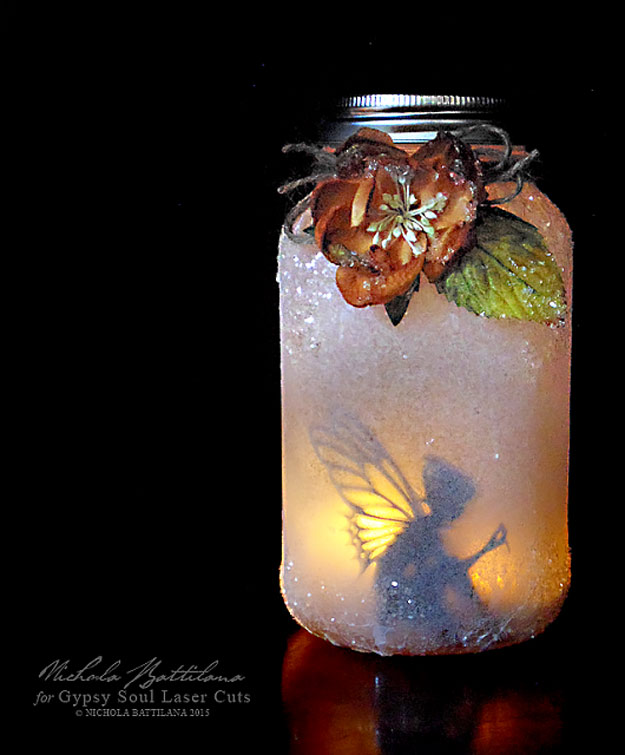Cool DIY Ideas for Fun and Easy Crafts - Easy Crafts for Teen Girls - Mason Jar Fairy Lantern - Dip Dyed String Wall Hanging - DIY Mini Easel Makes Fun DIY Room Decor Idea - Awesome Pinterest DIYs that Are Not Impossible To Make - Creative Do It Yourself Craft Projects for Adults, Teens and Tweens #diyteens #teencrafts #funcrafts #fundiy #diyideas
