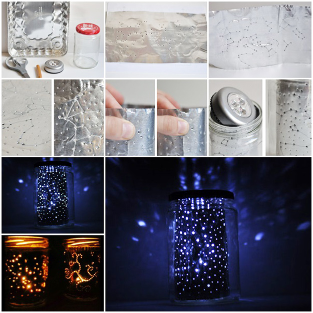Cool DIY Ideas for Fun and Easy Crafts - Star Gazing Constellation Jar Makes a Fun Weekend Project Idea for Older Kids and Teens - DIY Moon Pendant for Easy DIY Lighting in Teens Rooms - Dip Dyed String Wall Hanging - DIY Mini Easel Makes Fun DIY Room Decor Idea - Awesome Pinterest DIYs that Are Not Impossible To Make - Creative Do It Yourself Craft Projects for Adults, Teens and Tweens #diyteens #teencrafts #funcrafts #fundiy #diyideas