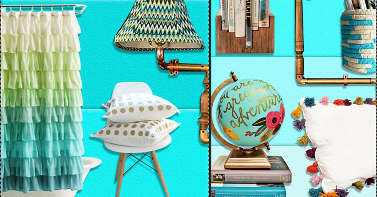 37 insanely cute teen bedroom ideas for diy decor crafts for Easy diy home decorations