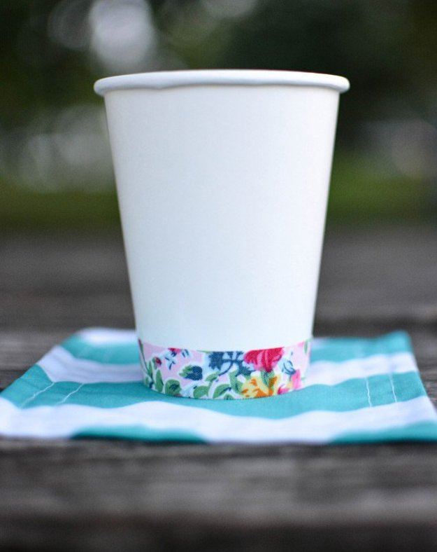 Washi Tape Crafts - Washi Tape Cups - Wall Art, Frames, Cards, Pencils, Room Decor and DIY Gifts, Back To School Supplies - Creative, Fun Craft Ideas for Teens, Tweens and Teenagers - Step by Step Tutorials and Instructions http://diyprojectsforteens.com/washi-tape-crafts