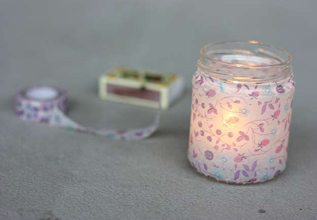 Washi Tape Crafts - Washi Tape Lanterns - Wall Art, Frames, Cards, Pencils, Room Decor and DIY Gifts, Back To School Supplies - Creative, Fun Craft Ideas for Teens, Tweens and Teenagers - Step by Step Tutorials and Instructions http://diyprojectsforteens.com/washi-tape-crafts