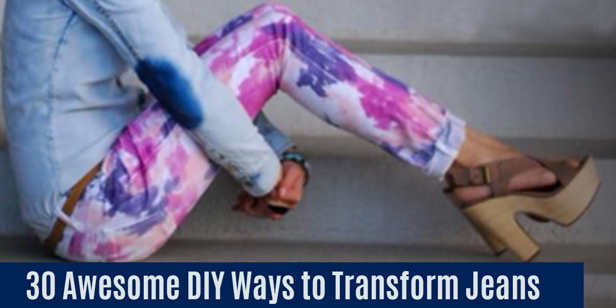 DIY Jeans Makeover - Cool Crafts and DIY Ideas for Teens