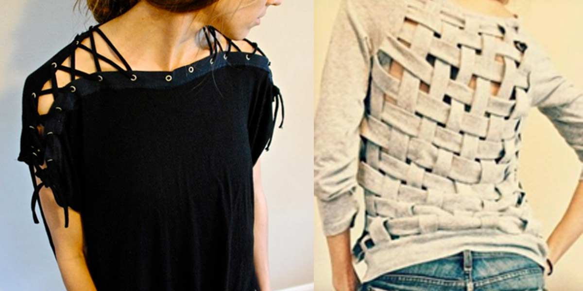 30 Awesome T-Shirt DIYs Makeovers You Should Try Right Now!