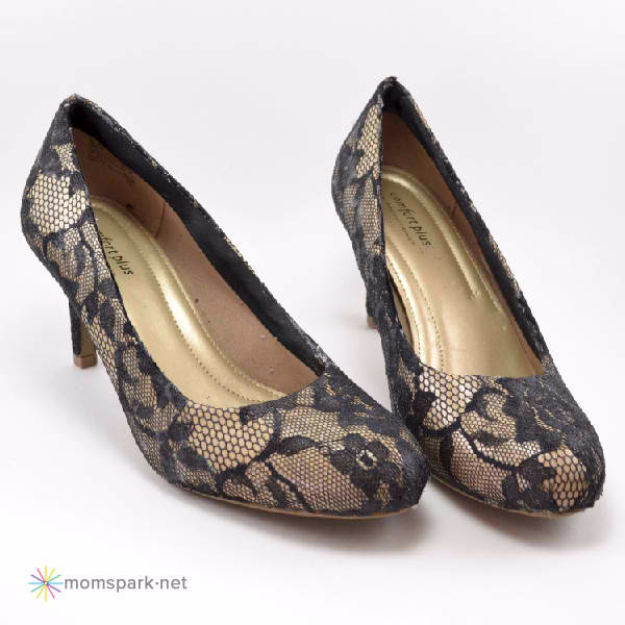 DIY Shoe Makeovers - Lace Heels Tutorial - Cool Ways to Update, Decorate, Paint, Bedazle and Add Sparkle to Your Flats, Pumps, Tennis Shoes, Boots and Boring Shoes - Cool Crafts and DIY Shoe Ideas for Teens and Adults