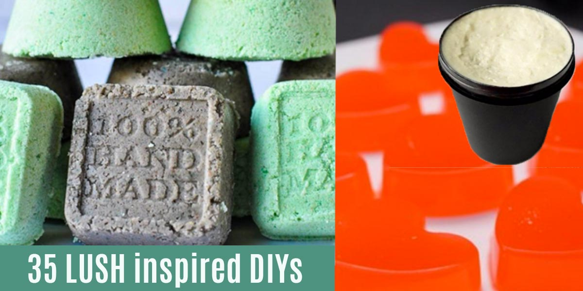 35 Lush Inspired Diy Beauty Products