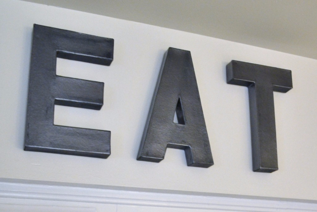 diy wall letters and initals wall art anthropologie inspired zinc letters cool architectural letter