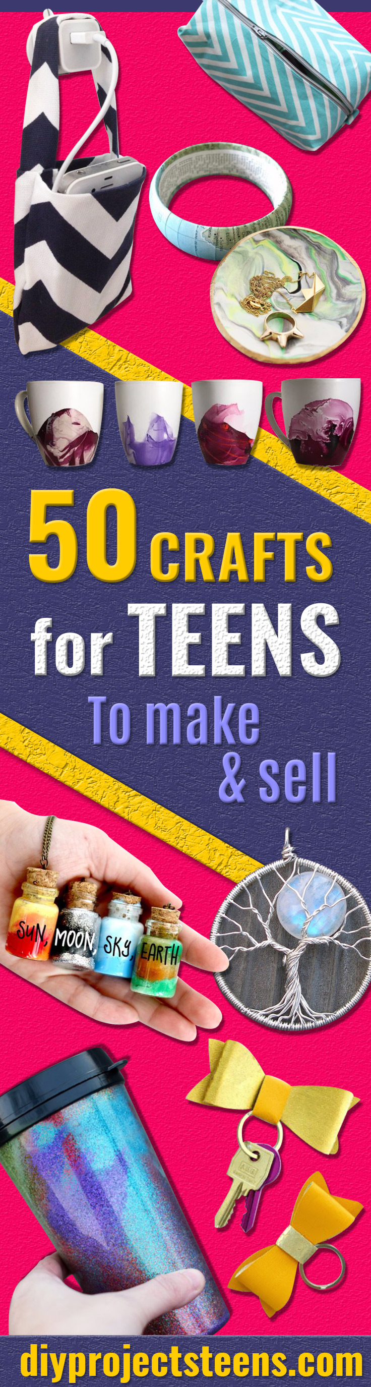 Cool Crafts for Teens to Make and Sell - Creative DIY Projects to Make and Sell - DIY Ideas to Sell for Most Profitable Crafts for Etsy
