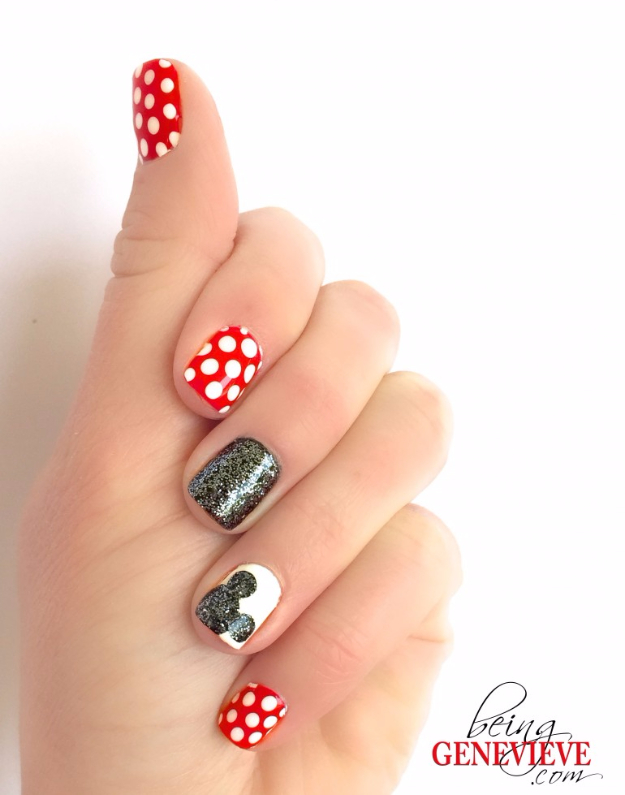 Magical Mickey Nail Art Diy Projects For Teens